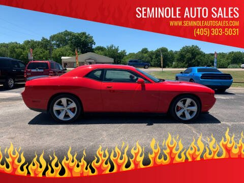 2009 Dodge Challenger for sale at Seminole Auto Sales in Seminole OK