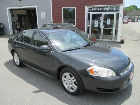 2013 Chevrolet Impala for sale at Percy Bailey Auto Sales Inc in Gardiner ME