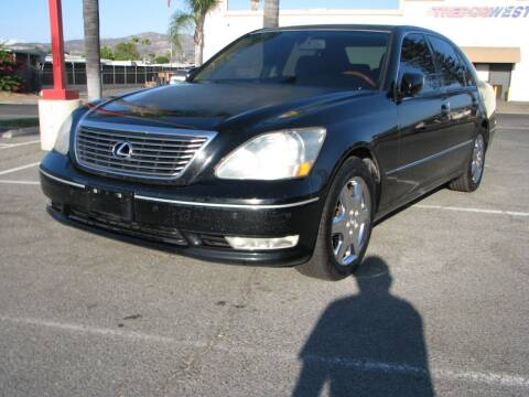 2004 Lexus LS 430 for sale at M&N Auto Service & Sales in El Cajon CA