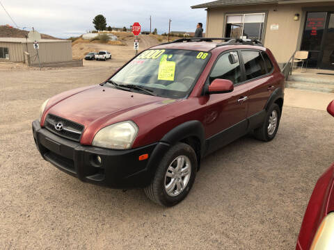 2008 Hyundai Tucson for sale at Hilltop Motors in Globe AZ