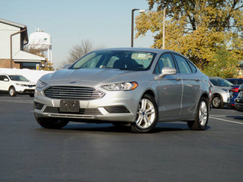 2018 Ford Fusion for sale at Jack Schmitt Chevrolet Wood River in Wood River IL