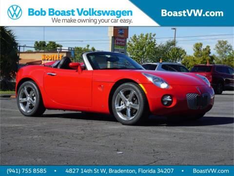 2007 Pontiac Solstice for sale at Bob Boast Volkswagen in Bradenton FL