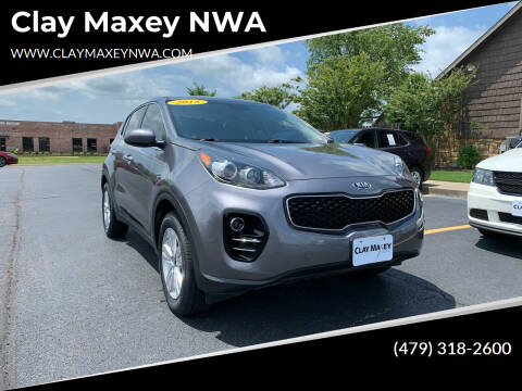 2018 Kia Sportage for sale at Clay Maxey NWA in Springdale AR