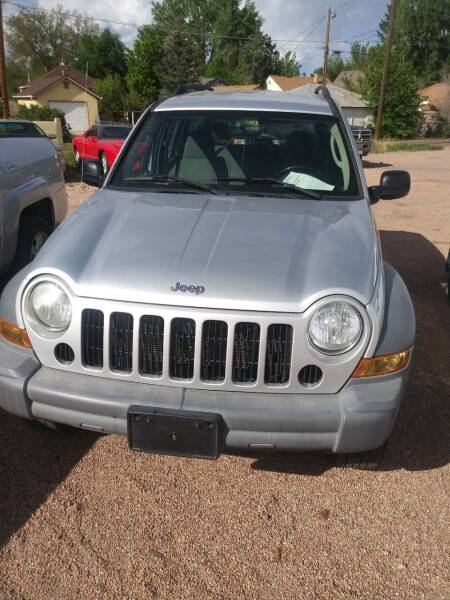 2005 Jeep Liberty for sale at PYRAMID MOTORS AUTO SALES in Florence CO