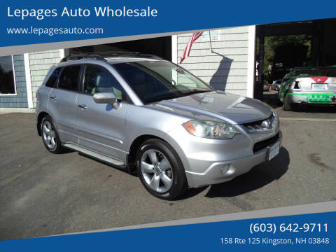 2008 Acura RDX for sale at Lepages Auto Wholesale in Kingston NH