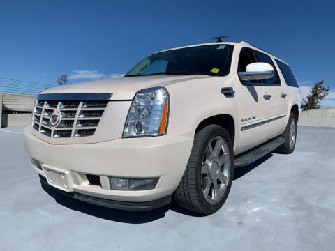 2013 Cadillac Escalade ESV for sale at BAY AREA CAR SALES in San Jose CA
