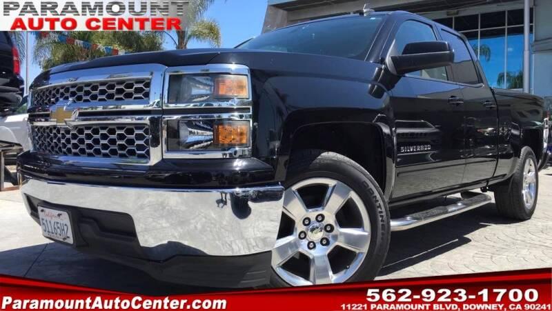2015 Chevrolet Silverado 1500 for sale at PARAMOUNT AUTO CENTER in Downey CA