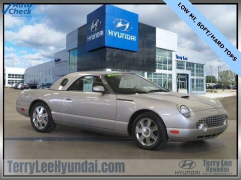 2004 Ford Thunderbird for sale at Terry Lee Hyundai in Noblesville IN
