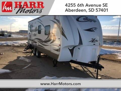 2012 Keystone Cougar for sale at Harr Motors Bargain Center in Aberdeen SD