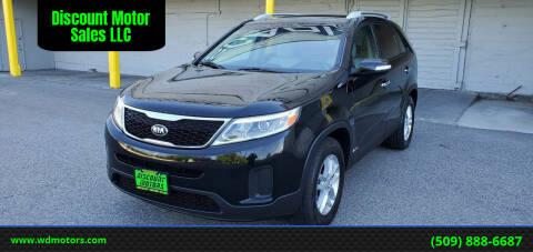 2015 Kia Sorento for sale at Discount Motor Sales LLC in Wenatchee WA