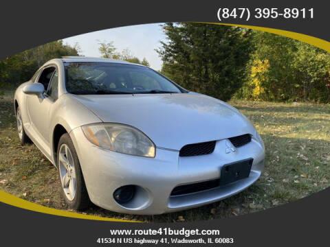 2007 Mitsubishi Eclipse for sale at Route 41 Budget Auto in Wadsworth IL