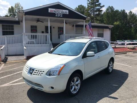 2009 Nissan Rogue for sale at CVC AUTO SALES in Durham NC