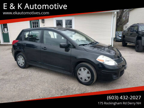 2007 Nissan Versa for sale at E & K Automotive in Derry NH