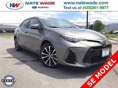 2018 Toyota Corolla for sale at NATE WADE SUBARU in Salt Lake City UT