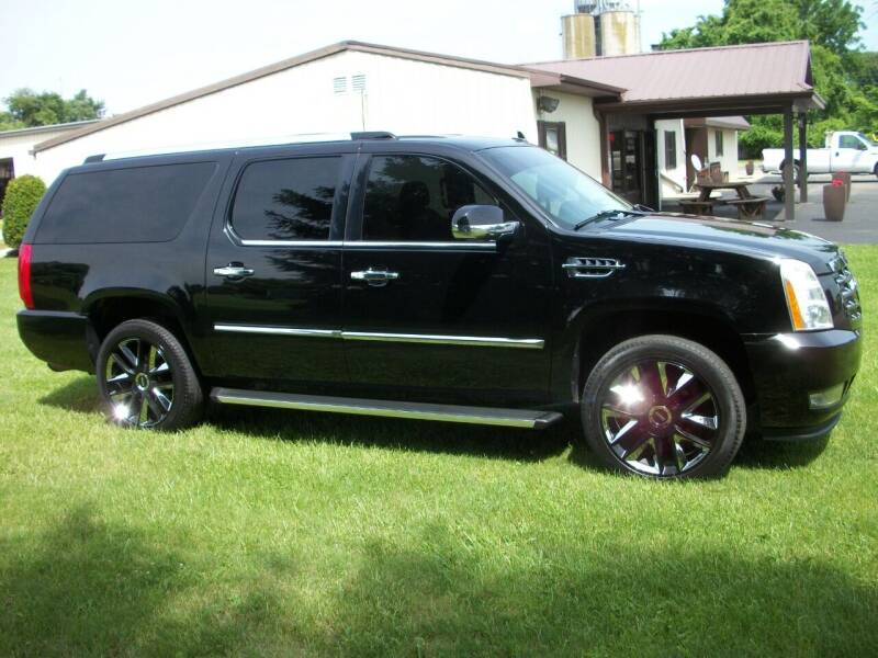 2008 Cadillac Escalade ESV for sale at Terry Mowery Chrysler Jeep Dodge in Edison OH