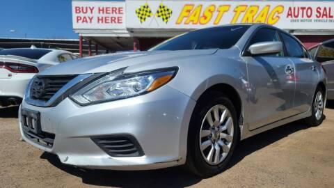 2016 Nissan Altima for sale at Fast Trac Auto Sales in Phoenix AZ
