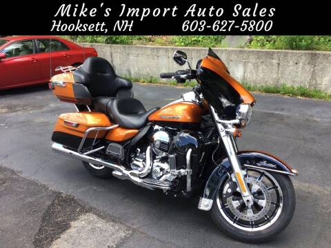 2015 Harley-Davidson Electra Glide Ultra Limited for sale at Mikes Import Auto Sales INC in Hooksett NH