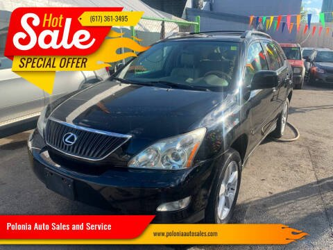 2006 Lexus RX 330 for sale at Polonia Auto Sales and Service in Hyde Park MA