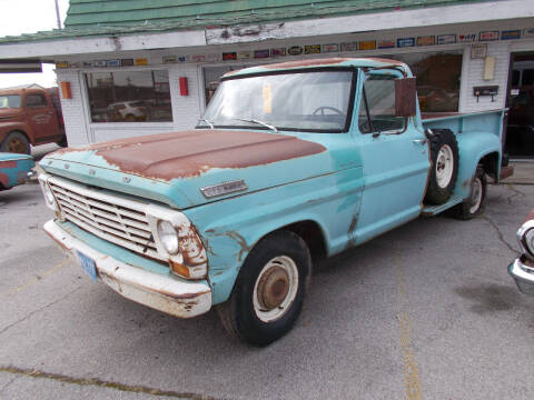 1967 Ford F-100 for sale at Governor Motor Co in Jefferson City MO