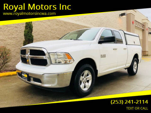 2013 RAM Ram Pickup 1500 for sale at Royal Motors Inc in Kent WA