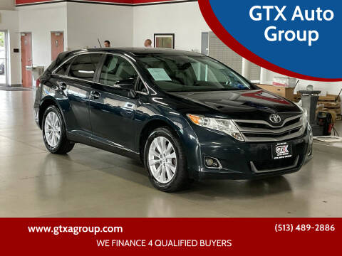 2014 Toyota Venza for sale at GTX Auto Group in West Chester OH