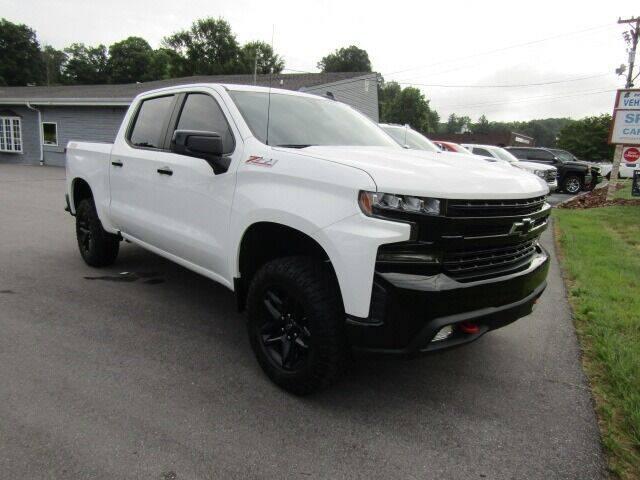 2021 Chevrolet Silverado 1500 for sale at Specialty Car Company in North Wilkesboro NC