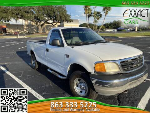 2004 Ford F-150 Heritage for sale at Exxact Cars in Lakeland FL
