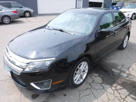 2012 Ford Fusion for sale at J & K Auto - J and K in Saint Bonifacius MN