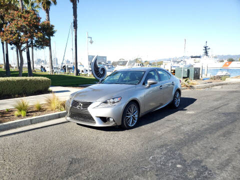2015 Lexus IS 250 for sale at Imports Auto Sales & Service in Alameda CA