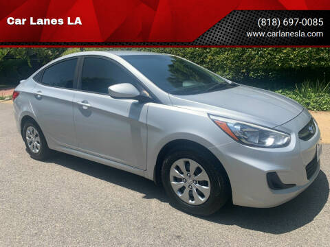 2016 Hyundai Accent for sale at Car Lanes LA in Valley Village CA
