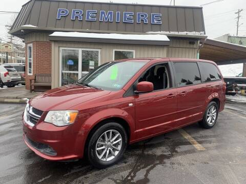2014 Dodge Grand Caravan for sale at Premiere Auto Sales in Washington PA