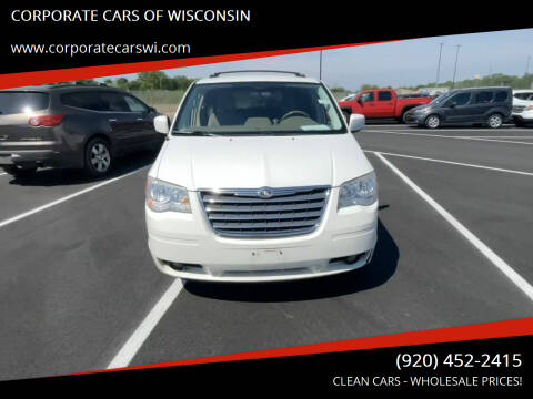 2010 Chrysler Town and Country for sale at CORPORATE CARS OF WISCONSIN - DAVES AUTO SALES OF SHEBOYGAN in Sheboygan WI
