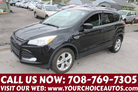 2014 Ford Escape for sale at Your Choice Autos in Posen IL
