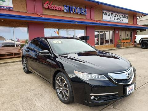 2015 Acura TLX for sale at Ohana Motors in Lihue HI