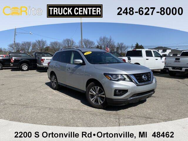 2018 Nissan Pathfinder for sale at Carite Truck Center in Ortonville MI