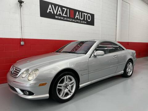 2005 Mercedes-Benz CL-Class for sale at AVAZI AUTO GROUP LLC in Gaithersburg MD