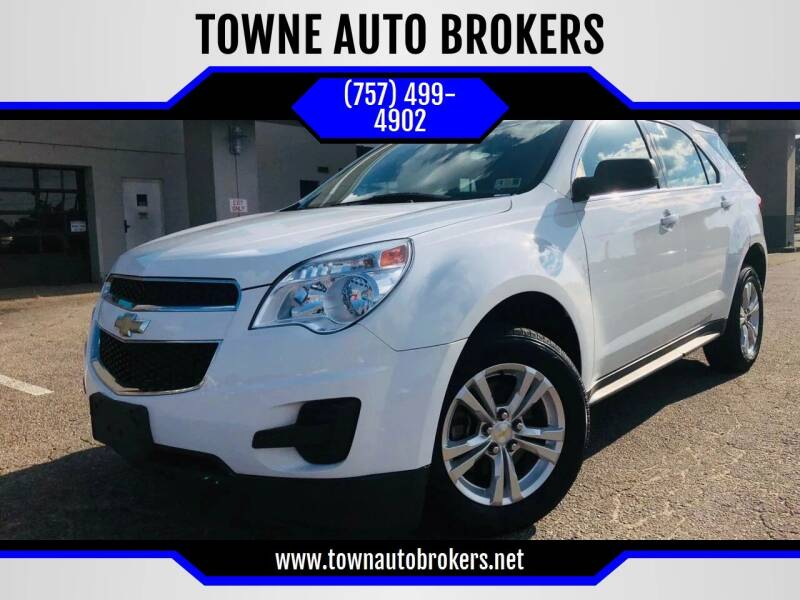 2014 Chevrolet Equinox for sale at TOWNE AUTO BROKERS in Virginia Beach VA