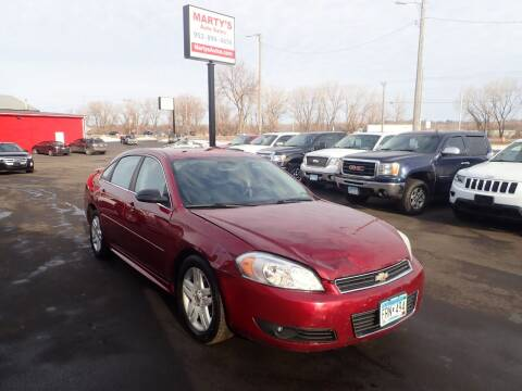 2011 Chevrolet Impala for sale at Marty's Auto Sales in Savage MN