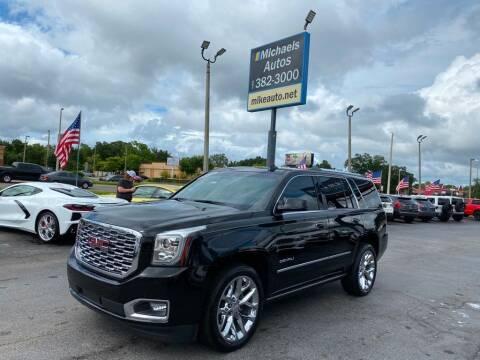 2018 GMC Yukon for sale at Michaels Autos in Orlando FL