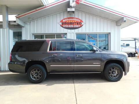 2015 GMC Yukon XL for sale at Motorsports Unlimited in McAlester OK