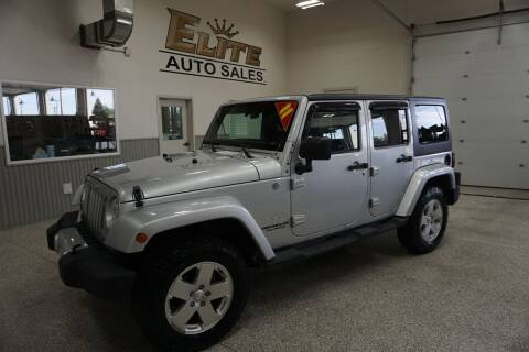 2011 Jeep Wrangler Unlimited for sale at Elite Auto Sales in Ammon ID