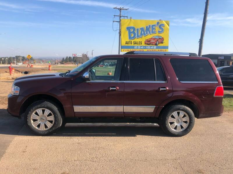 2010 Lincoln Navigator for sale at Blakes Auto Sales in Rice Lake WI