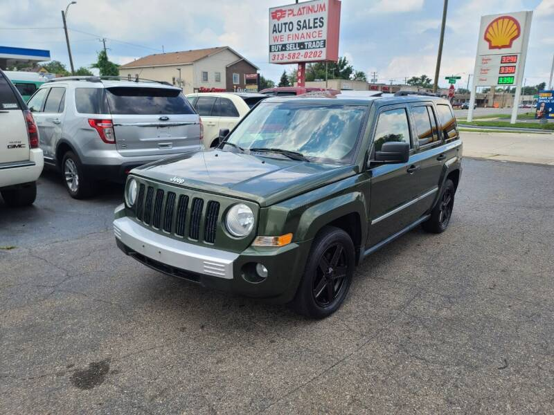 2008 Jeep Patriot for sale at PLATINUM AUTO SALES in Dearborn MI