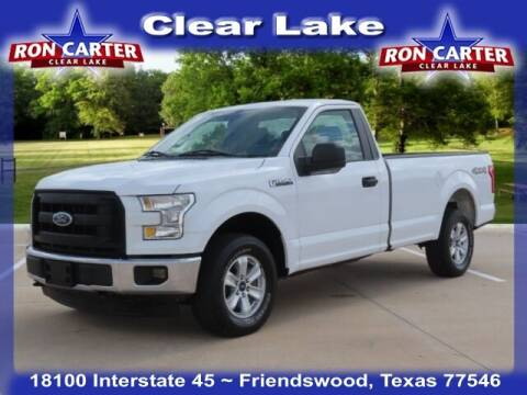 2017 Ford F-150 for sale at Ron Carter  Clear Lake Used Cars in Houston TX