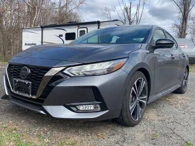 2020 Nissan Sentra for sale at Worthington Air Automotive Inc in Williamsburg MA