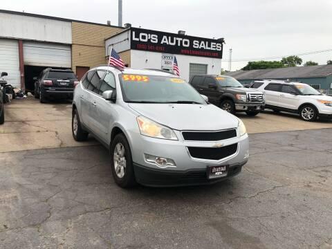 2010 Chevrolet Traverse for sale at Lo's Auto Sales in Cincinnati OH
