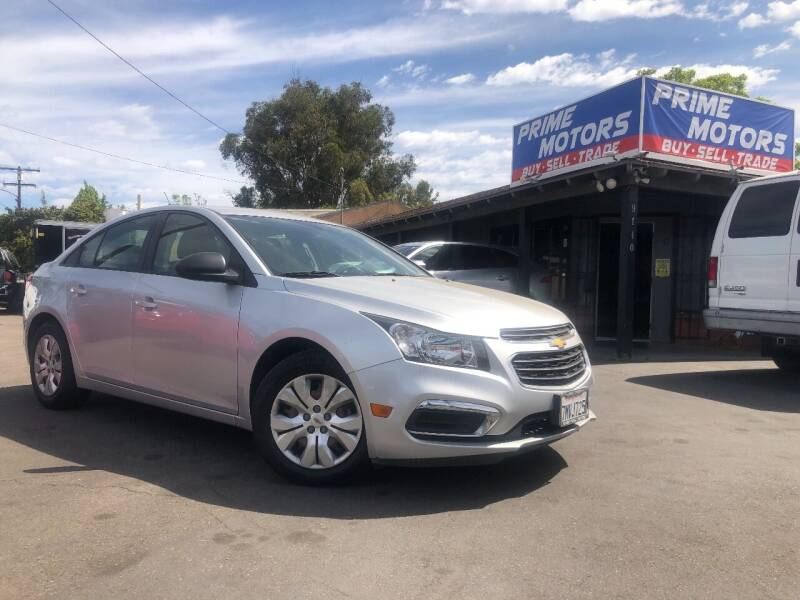 2016 Chevrolet Cruze Limited for sale in Spring Valley, CA