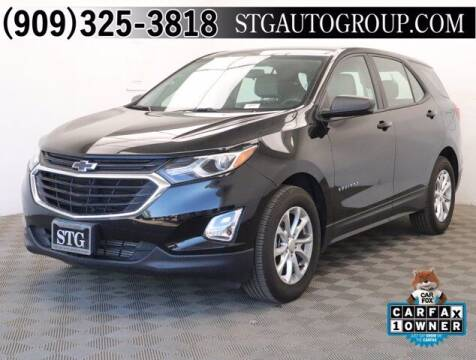 2019 Chevrolet Equinox for sale at STG Auto Group in Montclair CA