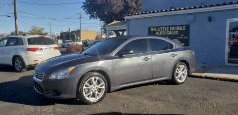 2013 Nissan Maxima for sale at The Little Details Auto Sales in Reno NV