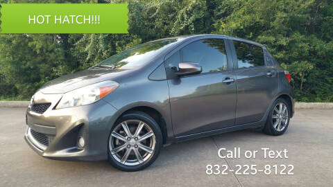 2012 Toyota Yaris for sale at Houston Auto Preowned in Houston TX